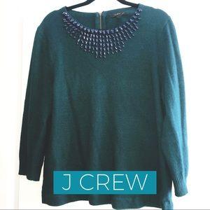 J. CREW embellished sweater